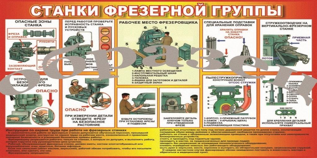 Инструкция по охране труда при работе на станках с чпу